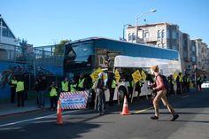 Alvo de protestos, Google doa USD 6,8 milhoes para financiar transporte público gratuito - Blue Bus