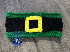crochet headband pat