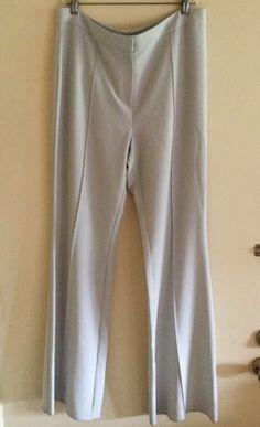 St John Marie Gray Flat Front Pants Sz-14 NWT    eBay