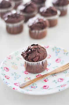 Double Chocolate Muffins | Vickii Ma