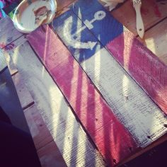 Our Flag Pallet Wood Workshop this week was lot's of fun! Everyone brought so much creativity and excitement! #forthofjuly #flag #repurposed #america #usa #lakenorman #shopsmall