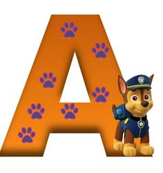 A paw patrol Paw Patrol Party, Paw Patrol Birthday, Cumple Paw Patrol, Ideas Para Fiestas, Alphabet And Numbers, Cupcake Party, 4th Birthday Parties, Holidays And Events, Clipart