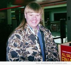 The urban camouflage mullet. | The 31 Most Important Mullets That Ever Existed
