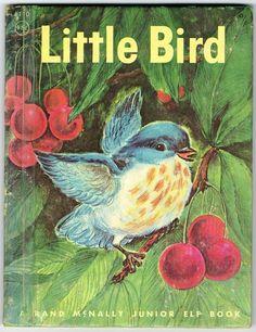 Vintage Rand McNally Junior Elf Book Little Bird | eBay