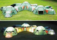 Neatest tent ever