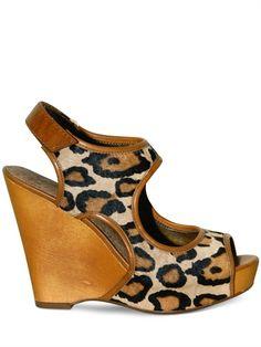 Sam Edelman Leopard Print Wedge