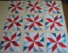 HST Layout Options by jewel's quilts, via Flickr