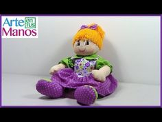Detailed step by step rag doll Doll Videos, Beagle, Crochet, Art Dolls, Doll Clothes, Dinosaur Stuffed Animal, Projects To Try, Teddy Bear, Toys