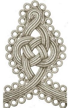 Military Braid, Lace, and Other Trimmings for Uniforms and Decorative Accents - Uniform Ribbon Embroidery, Embroidery Patterns, Soutache Pattern, Bustle Dress, Passementerie, Gold Work, Gold Lace, Sewing Techniques, Military Fashion