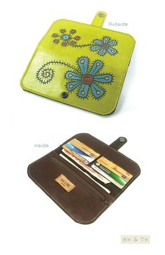 $65 for handmade leather wallets