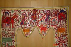 20e century indian embroidery textile83cmx70cmPazyryk antique Amsterdam Indian Embroidery, Valance Curtains, Amsterdam, Textiles, Antiques, Home Decor, Antiquities, Antique, Decoration Home
