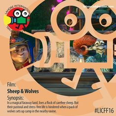 Worlds best films by for and about children at 8th Lahore International Childrens Film Festival 2016  lahorechildrenfilm.com  #LICFF16#TLAORG#LAHORE#PAKISTAN#FILMFESTIVAL  #sheepsandwolves #magic #suspense