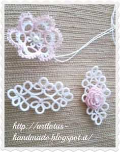 tatting tridimensional
