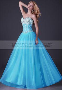 vestidos de debutantes azul com dourado - Pesquisa Google