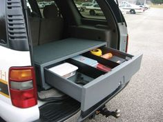 SUV Cargo Caddy - Products - POLICE Magazine (Travel Gadgets Car)