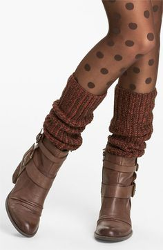 #HUE Slouchy Leg Warmers - PERFECT for Fall!  | #HUEGottaHaveIt