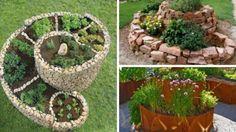 Najkrajšie špirálovité záhrady na pestovanie kvetov a byliniek!