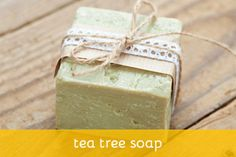 Tea tree soap recipe