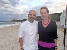 LML Mitzi and George Calombaris at the Gourmet Escape, Margaret River. Click to read all about it!