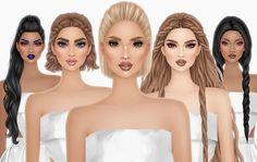Covet Fashion, Disney Characters, Fictional Characters, Barbie, Disney Princess, Cover, Hair, Fantasy Characters, Disney Princesses