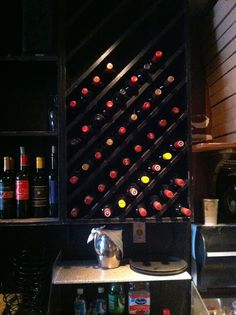 1000 images about great ideas on pinterest inspired - Wine bottle storage angle ...