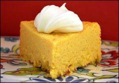 Torta de maíz dulce, receta mexicana