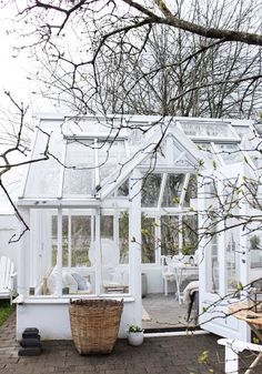 how about this for a greenhouse? Vintagehome