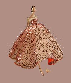 Illustrating Oscar de la Renta Fall 2017 ❣️#PaperFashionRunway