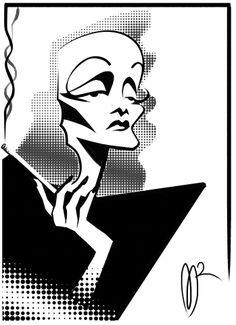 Marlene Dietrich por Marzio Mariani