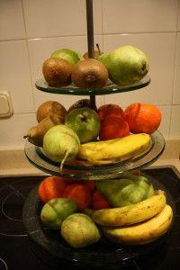 frutero tres pisos / 3-tier serving tray (for fruit)