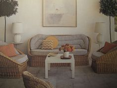 Billy Baldwin Decorates | Mrs. Gilbert Miller Mallorca House | www.byblye.com