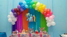 Mesa de dulces my little pony