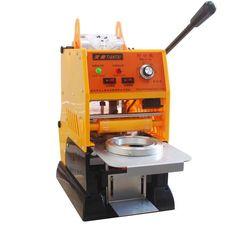 WY 680 Semi automatic Bubble Tea Cafe Coffee Sealer Sealing Roller Machine 220V