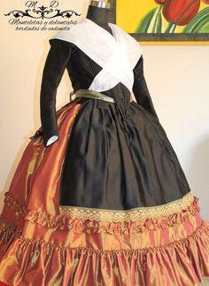 18th Century Dress, Skirts, Dresses, Google, Fashion, Vestidos, Folklore, Vintage Clothing, Ethnic Dress