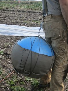 The Garden Task Back-Saver     This is a great idea for planting seeds, picking green beans and a lot more....