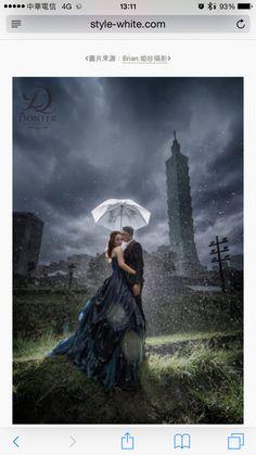 夜景 雨景