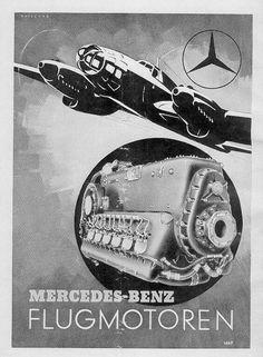 Motores de aviación Mercedes Benz