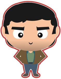 John Winchester from Supernatural. He sure did raise a couple of great hunters!  Check out all the other characters we've made from Supernatural in our new Etsy shop.