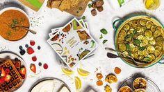 😋 Découvrez le nouveau livre de recettes Herbalife Nutrition. Une collection de 80 recettes élaborées par une Chef culinaire dont de délicieuses recettes végétariennes et vegan. L'ensemble parfaitement identifié avec des codes graphiques reprenant toutes les informations nutritionnelles et caloriques essentielles. Un must have de votre cuisine familiale 🌮🥗🍓