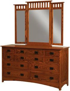 mission+style+bedroom+furniture | Amish Furniture Home > Bedroom > Amish Dressers and Wood Dressers ...