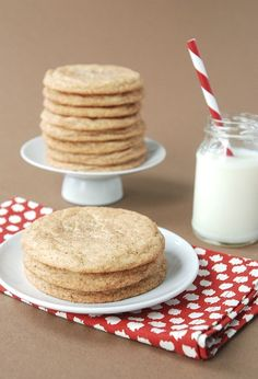 Chai Snickerdoodle Cookies. A twist on the traditional snickerdoodle. Every time I make these I get asked for the recipe.