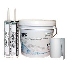 KBRS Discount Shower Kit Includes ShowerSeal Brand 2 Pack Polyurethane  Shower Sealant, 75ft Gauging
