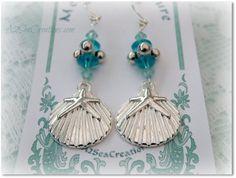 Mermaid Jewelry Beach Wedding Accessories by A2SeaCreations