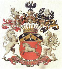 Emblem of Count Shuvalov / Герб ГРАФОВ ШУВАЛОВЫХ