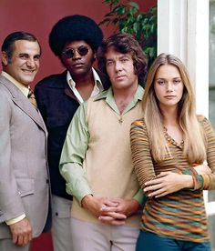 The Mod Squad - Tige Andrews, Clarence Williams III, Michael Cole and Peggy Lipton