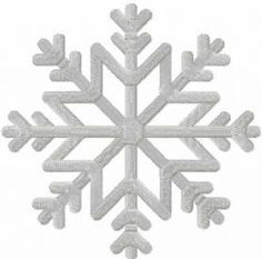 Snow flake free machine embroidery design. Machine embroidery design. www.embroideres.com