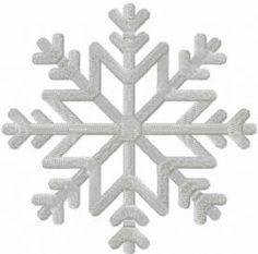 Snow flake free machine embroidery design. Machine embroidery design. www.embroideres.com