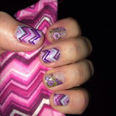 Dancing Lilacs and Happily Ever After--can't have enough purple! • Jamberry Nail Wraps • www.LuvYourNailStyle.JamberryNails.net