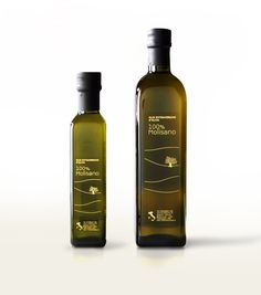 EVEN THOUGH ITS OLIVE OIL I LIKE THE DESIGN.... 100% Molisano olive oil packaging designed by Bipiuci.