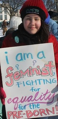 I love this - 13 Young, Secular People Who Also Believe Abortion Is Wrong